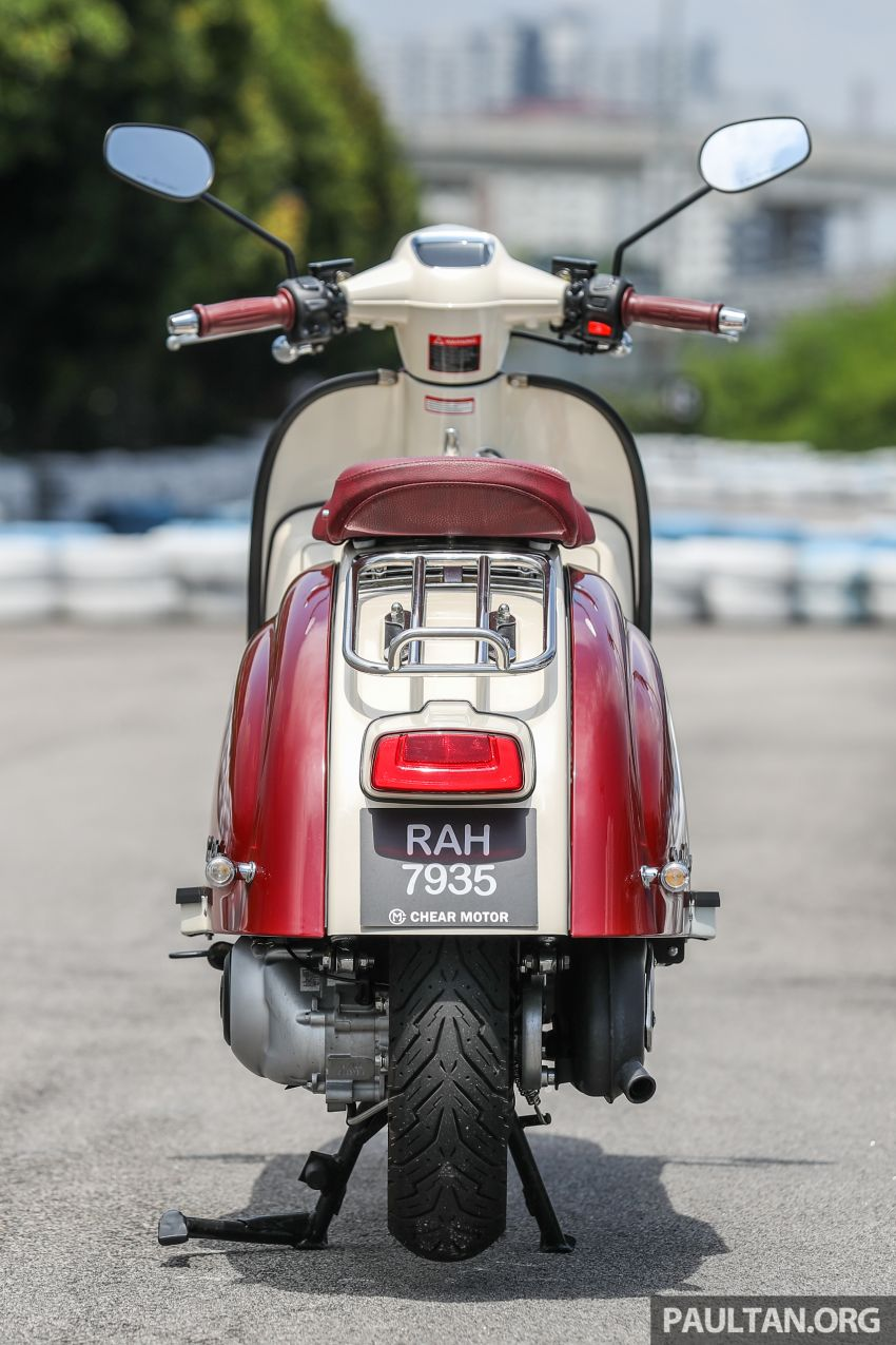 REVIEW: 2021 Royal Alloy TG250 – riding <em>la dolce vita</em>, RM19,800, made in Thailand, all classic scooter style Image #1291863