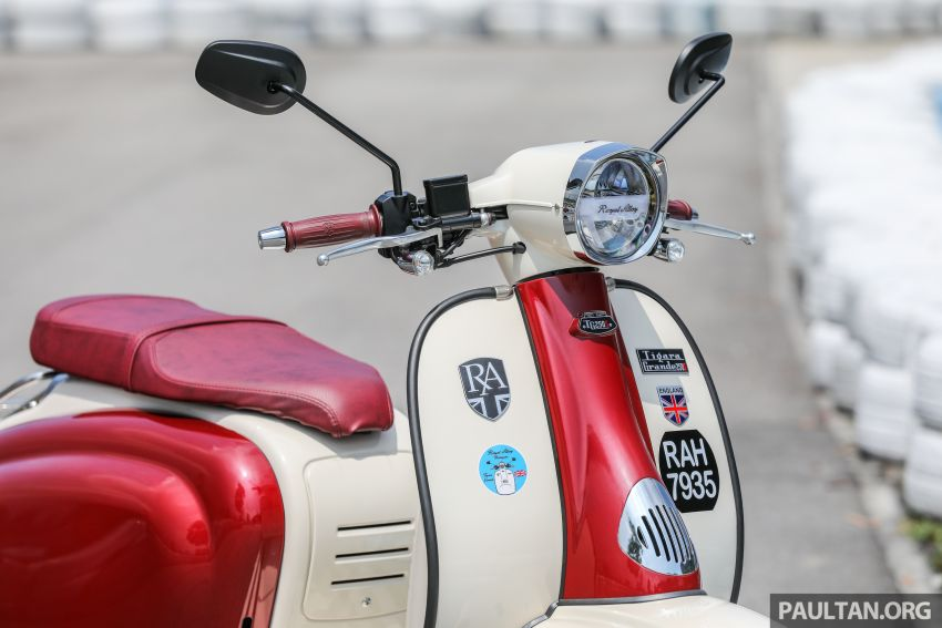 REVIEW: 2021 Royal Alloy TG250 – riding <em>la dolce vita</em>, RM19,800, made in Thailand, all classic scooter style Image #1291865