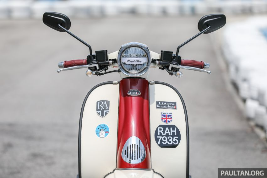 REVIEW: 2021 Royal Alloy TG250 – riding <em>la dolce vita</em>, RM19,800, made in Thailand, all classic scooter style Image #1291866