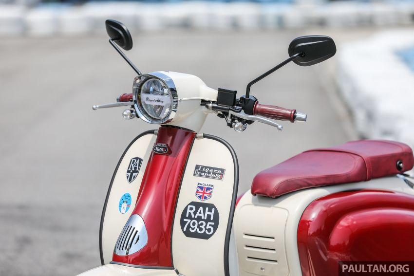 REVIEW: 2021 Royal Alloy TG250 – riding <em>la dolce vita</em>, RM19,800, made in Thailand, all classic scooter style Image #1291867