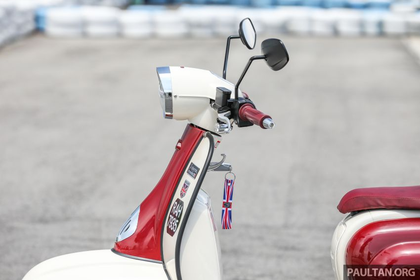 REVIEW: 2021 Royal Alloy TG250 – riding <em>la dolce vita</em>, RM19,800, made in Thailand, all classic scooter style Image #1291868