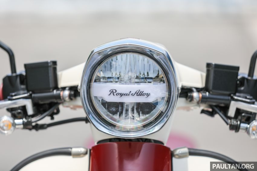 REVIEW: 2021 Royal Alloy TG250 – riding <em>la dolce vita</em>, RM19,800, made in Thailand, all classic scooter style Image #1291869