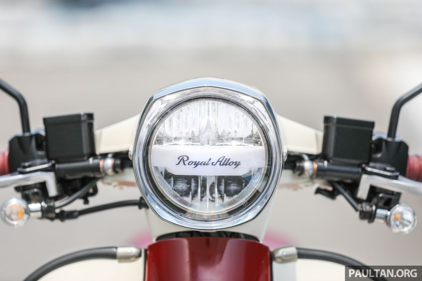 REVIEW: 2021 Royal Alloy TG250 – riding <em>la dolce vita</em>, RM19,800, made in Thailand, all classic scooter style Image #1291870