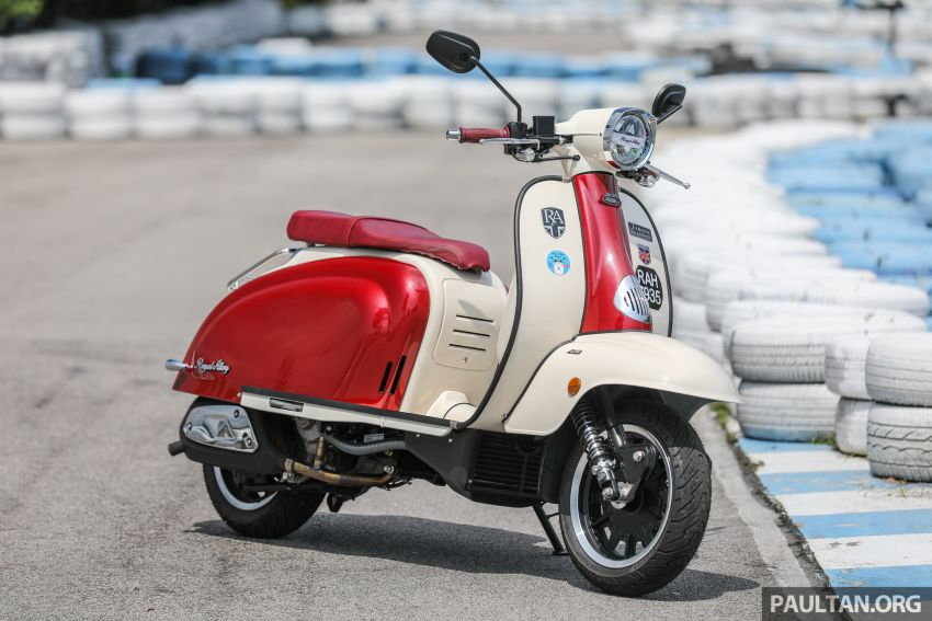 REVIEW: 2021 Royal Alloy TG250 – riding <em>la dolce vita</em>, RM19,800, made in Thailand, all classic scooter style Image #1291846