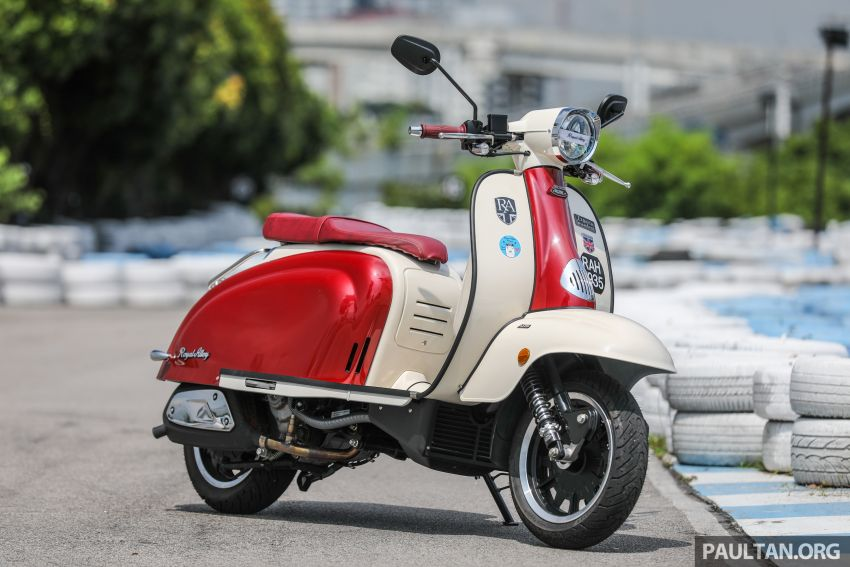 REVIEW: 2021 Royal Alloy TG250 – riding <em>la dolce vita</em>, RM19,800, made in Thailand, all classic scooter style Image #1291847