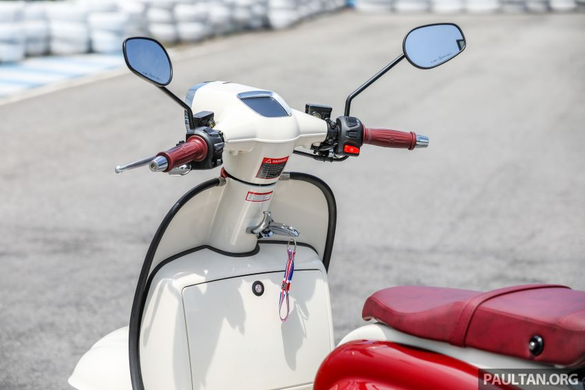 REVIEW: 2021 Royal Alloy TG250 – riding <em>la dolce vita</em>, RM19,800, made in Thailand, all classic scooter style Image #1291889