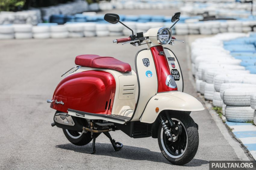 REVIEW: 2021 Royal Alloy TG250 – riding <em>la dolce vita</em>, RM19,800, made in Thailand, all classic scooter style Image #1291848