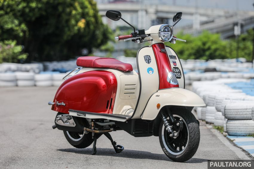 REVIEW: 2021 Royal Alloy TG250 – riding <em>la dolce vita</em>, RM19,800, made in Thailand, all classic scooter style Image #1291849