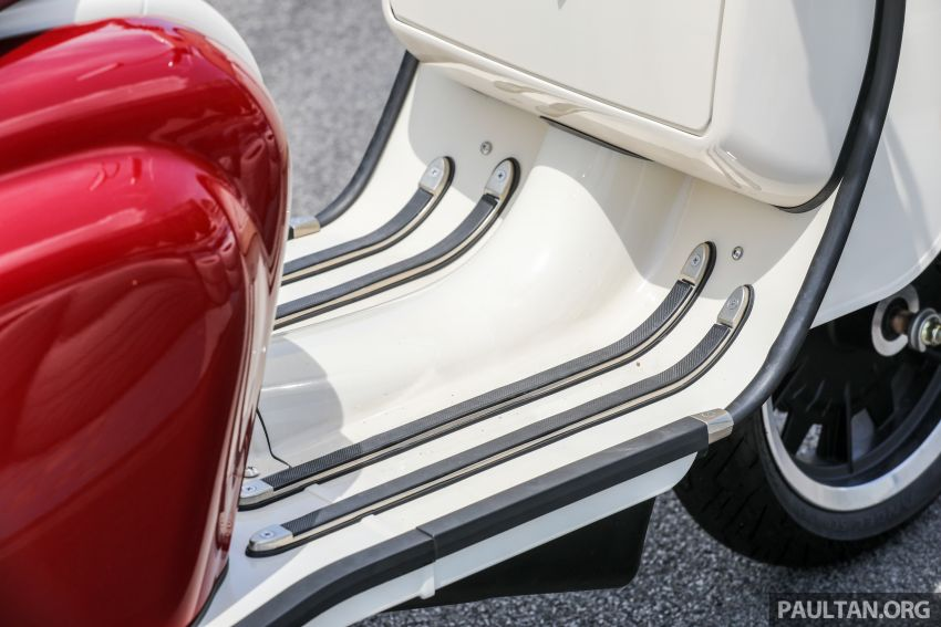 REVIEW: 2021 Royal Alloy TG250 – riding <em>la dolce vita</em>, RM19,800, made in Thailand, all classic scooter style Image #1291906
