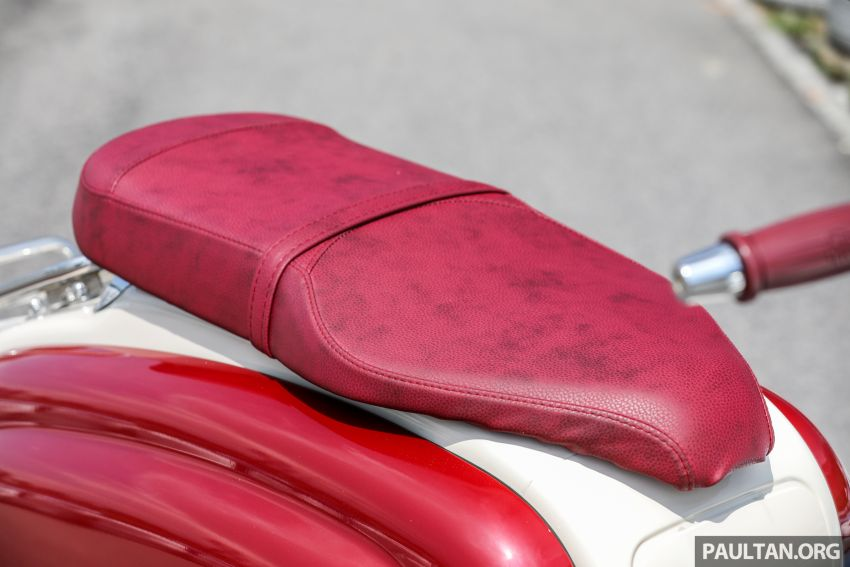 REVIEW: 2021 Royal Alloy TG250 – riding <em>la dolce vita</em>, RM19,800, made in Thailand, all classic scooter style Image #1291908