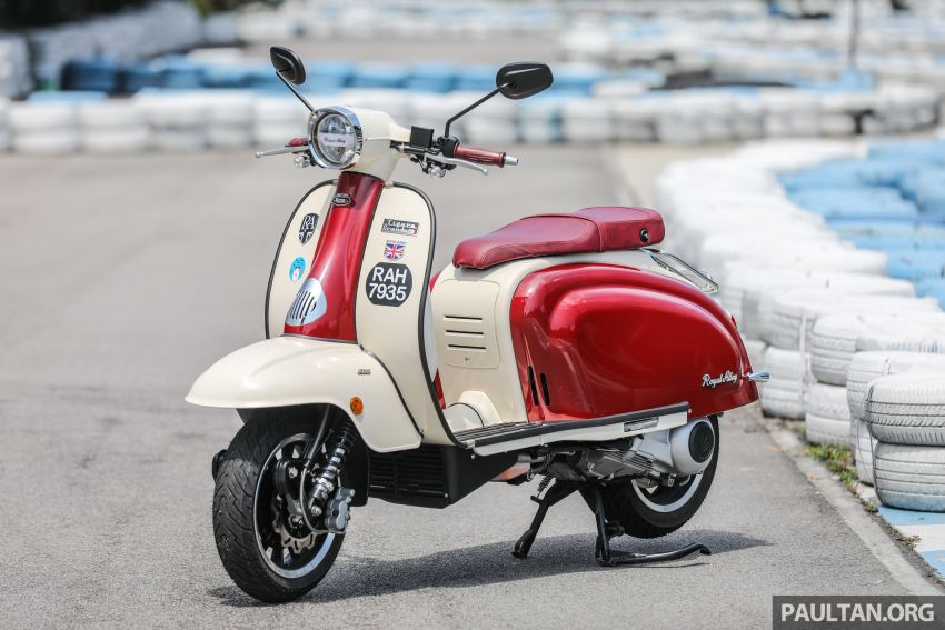 REVIEW: 2021 Royal Alloy TG250 – riding <em>la dolce vita</em>, RM19,800, made in Thailand, all classic scooter style Image #1291850