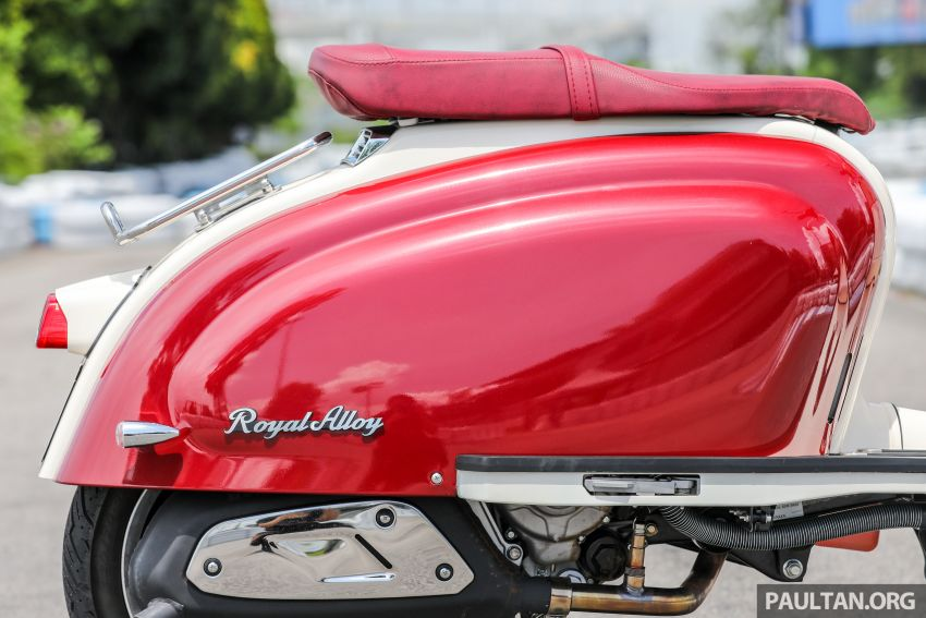 REVIEW: 2021 Royal Alloy TG250 – riding <em>la dolce vita</em>, RM19,800, made in Thailand, all classic scooter style Image #1291914