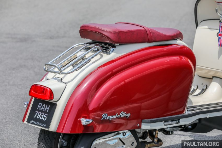 REVIEW: 2021 Royal Alloy TG250 – riding <em>la dolce vita</em>, RM19,800, made in Thailand, all classic scooter style Image #1291915