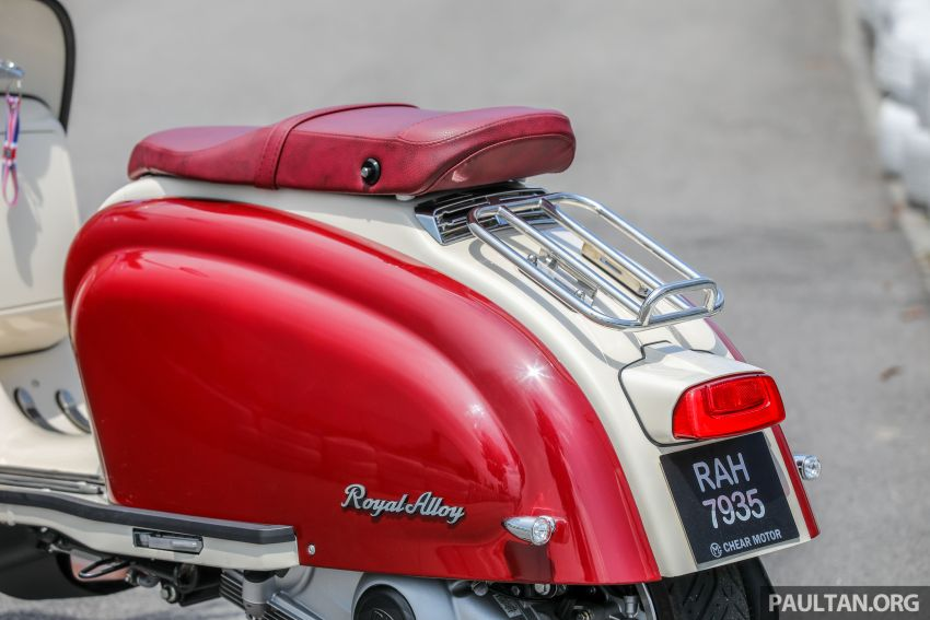 REVIEW: 2021 Royal Alloy TG250 – riding <em>la dolce vita</em>, RM19,800, made in Thailand, all classic scooter style Image #1291916
