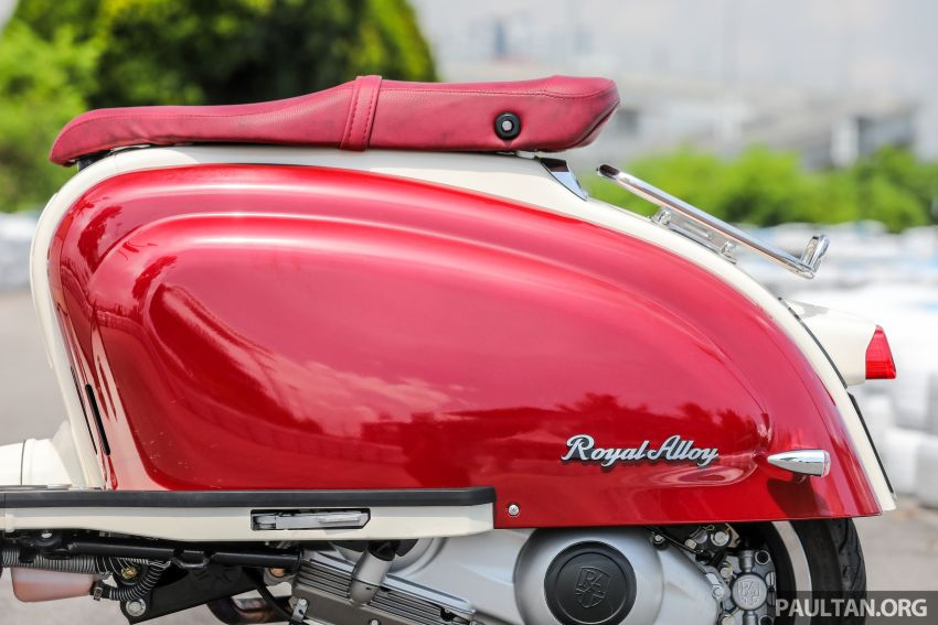 REVIEW: 2021 Royal Alloy TG250 – riding <em>la dolce vita</em>, RM19,800, made in Thailand, all classic scooter style Image #1291917