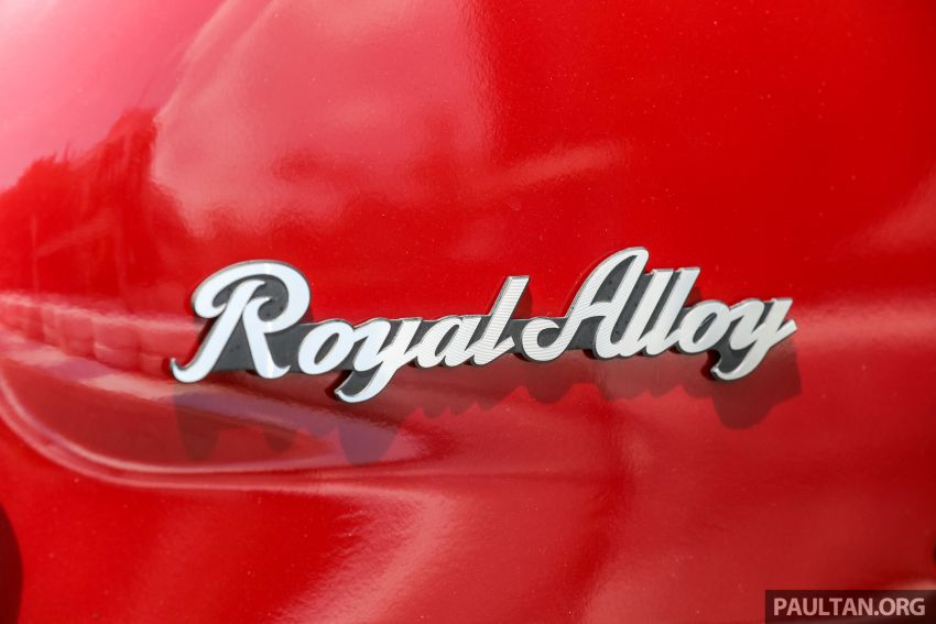 REVIEW: 2021 Royal Alloy TG250 – riding <em>la dolce vita</em>, RM19,800, made in Thailand, all classic scooter style Image #1291918