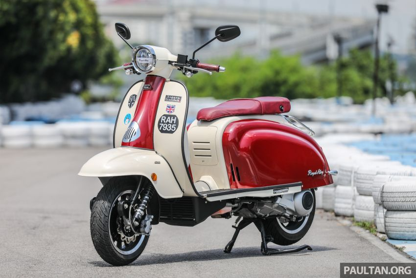 REVIEW: 2021 Royal Alloy TG250 – riding <em>la dolce vita</em>, RM19,800, made in Thailand, all classic scooter style Image #1291851