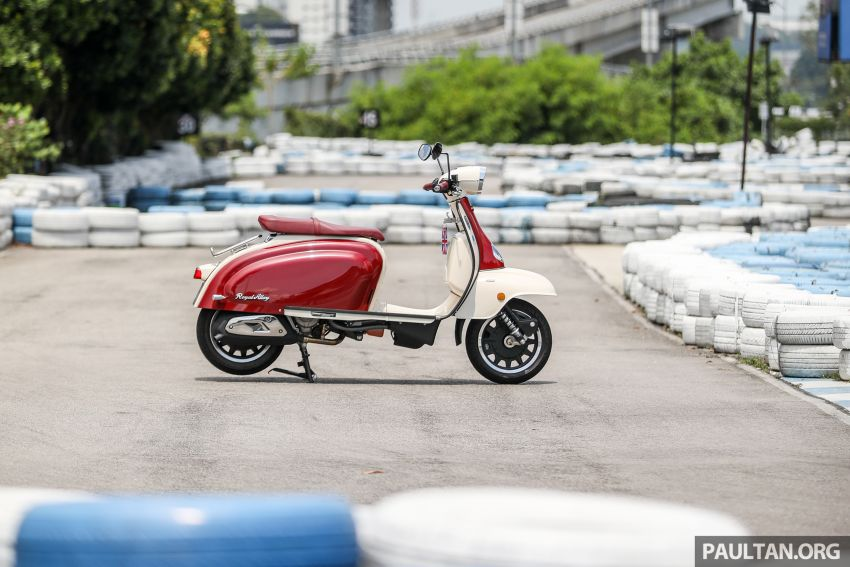 REVIEW: 2021 Royal Alloy TG250 – riding <em>la dolce vita</em>, RM19,800, made in Thailand, all classic scooter style Image #1291926