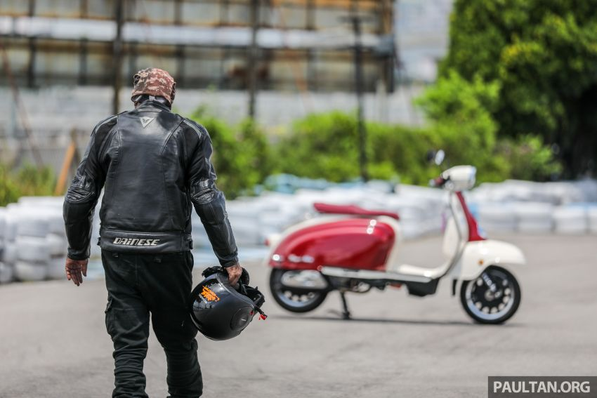 REVIEW: 2021 Royal Alloy TG250 – riding <em>la dolce vita</em>, RM19,800, made in Thailand, all classic scooter style Image #1291927