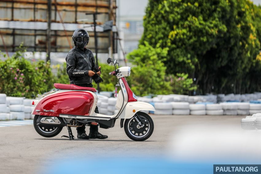 REVIEW: 2021 Royal Alloy TG250 – riding <em>la dolce vita</em>, RM19,800, made in Thailand, all classic scooter style Image #1291928