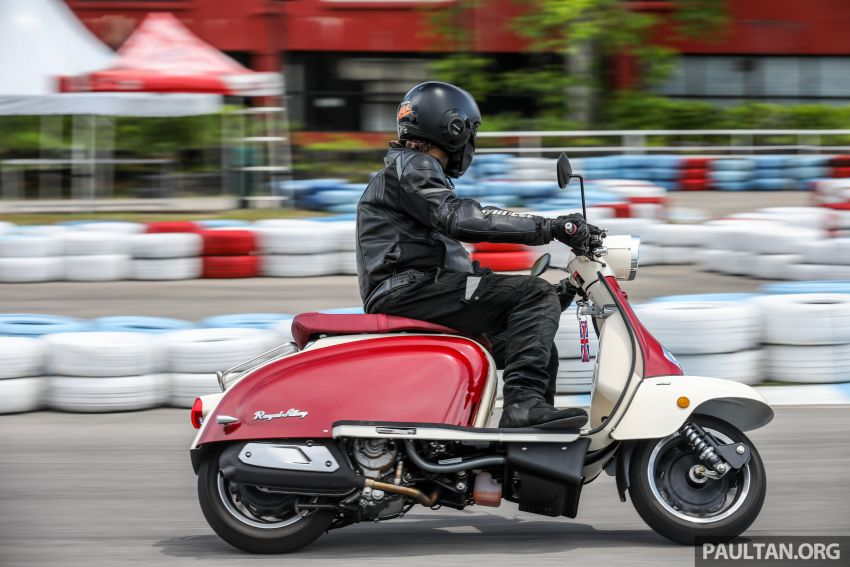 REVIEW: 2021 Royal Alloy TG250 – riding <em>la dolce vita</em>, RM19,800, made in Thailand, all classic scooter style Image #1291930