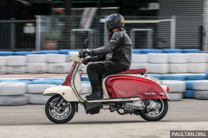 REVIEW: 2021 Royal Alloy TG250 – riding <em>la dolce vita</em>, RM19,800, made in Thailand, all classic scooter style Image #1291931