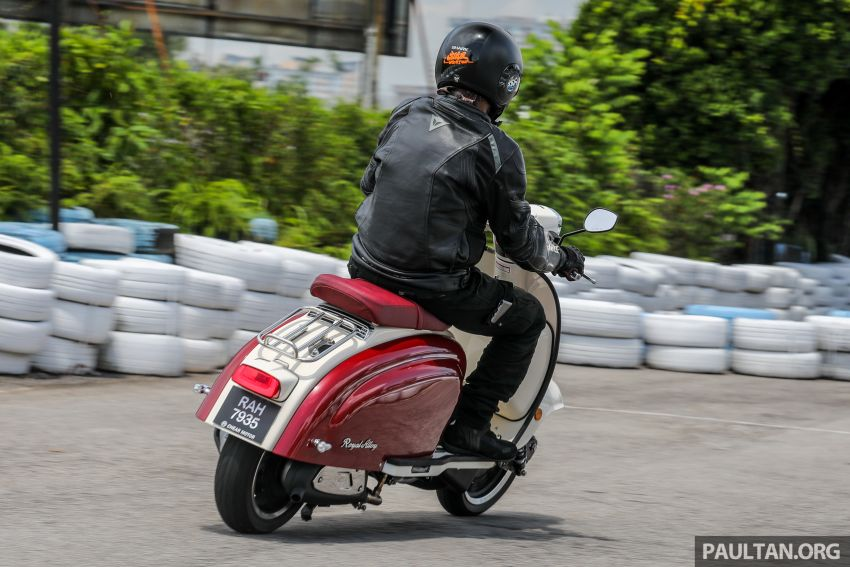 REVIEW: 2021 Royal Alloy TG250 – riding <em>la dolce vita</em>, RM19,800, made in Thailand, all classic scooter style Image #1291932