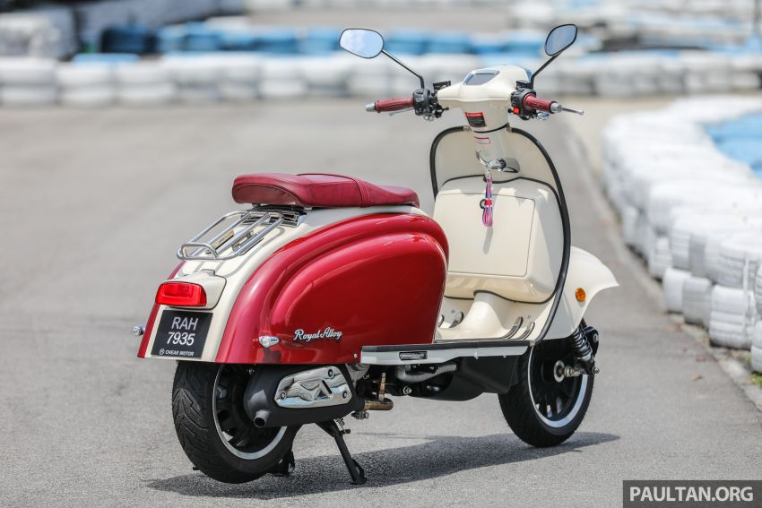 REVIEW: 2021 Royal Alloy TG250 – riding <em>la dolce vita</em>, RM19,800, made in Thailand, all classic scooter style Image #1291852