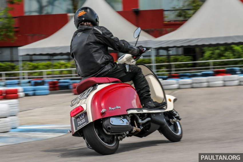 REVIEW: 2021 Royal Alloy TG250 – riding <em>la dolce vita</em>, RM19,800, made in Thailand, all classic scooter style Image #1291933