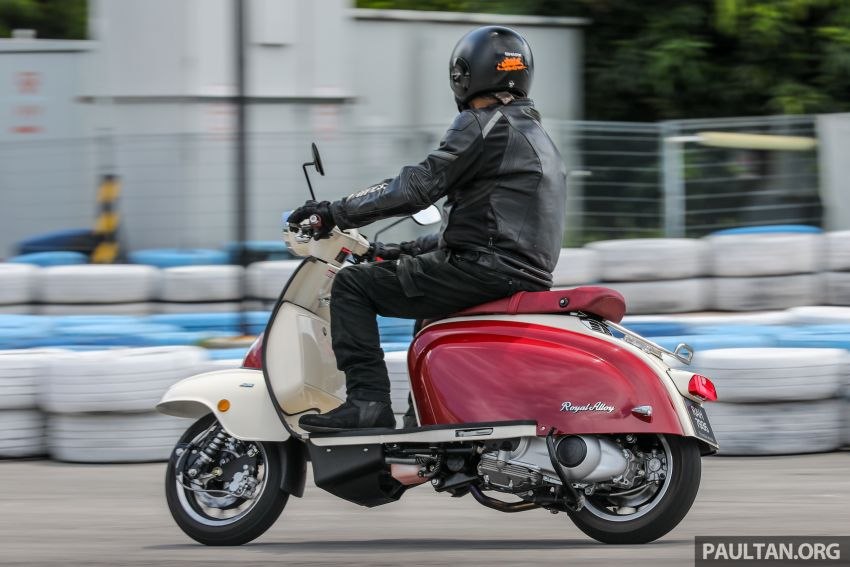 REVIEW: 2021 Royal Alloy TG250 – riding <em>la dolce vita</em>, RM19,800, made in Thailand, all classic scooter style Image #1291934