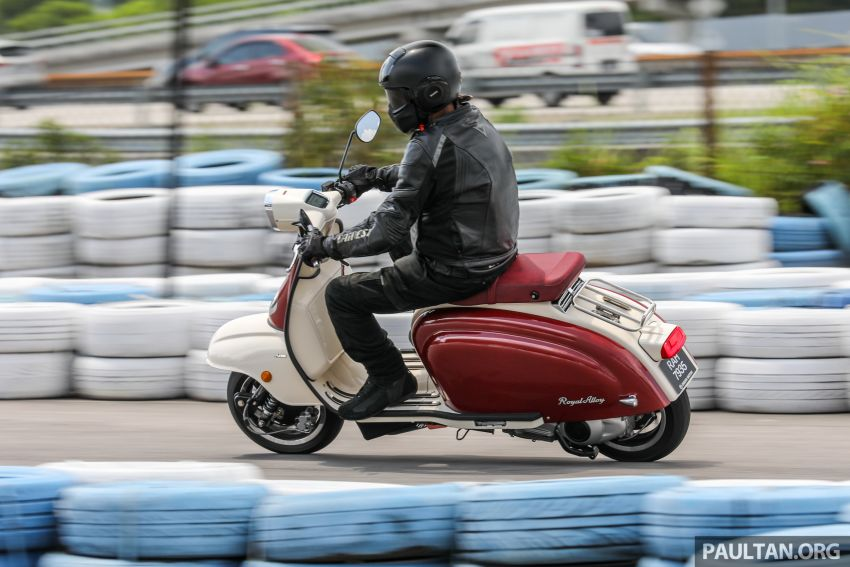 REVIEW: 2021 Royal Alloy TG250 – riding <em>la dolce vita</em>, RM19,800, made in Thailand, all classic scooter style Image #1291935