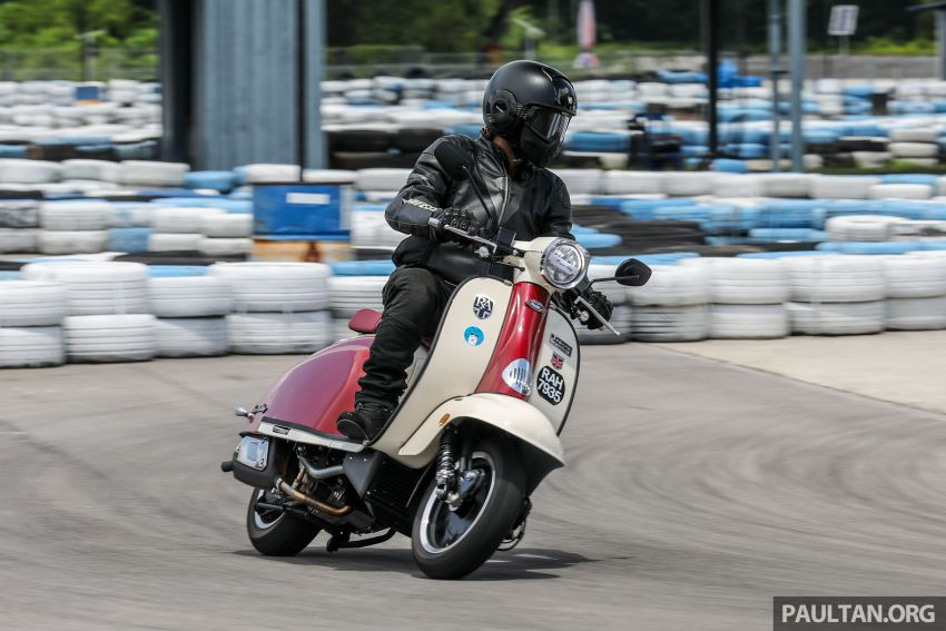 REVIEW: 2021 Royal Alloy TG250 – riding <em>la dolce vita</em>, RM19,800, made in Thailand, all classic scooter style Image #1291936
