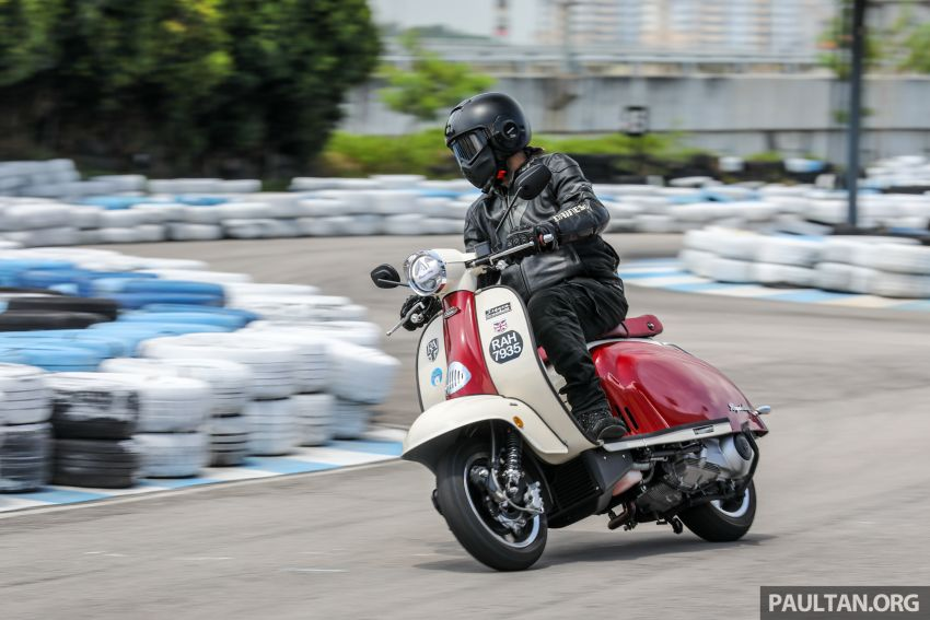 REVIEW: 2021 Royal Alloy TG250 – riding <em>la dolce vita</em>, RM19,800, made in Thailand, all classic scooter style Image #1291937
