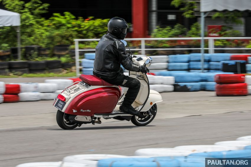 REVIEW: 2021 Royal Alloy TG250 – riding <em>la dolce vita</em>, RM19,800, made in Thailand, all classic scooter style Image #1291938