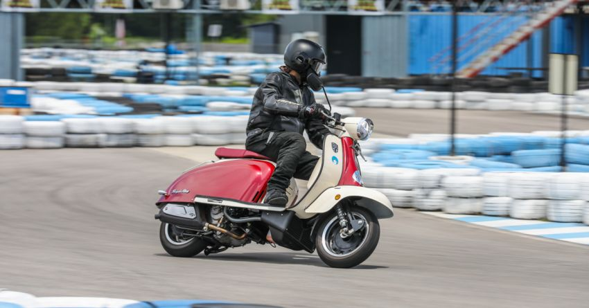 REVIEW: 2021 Royal Alloy TG250 – riding <em>la dolce vita</em>, RM19,800, made in Thailand, all classic scooter style Image #1292653