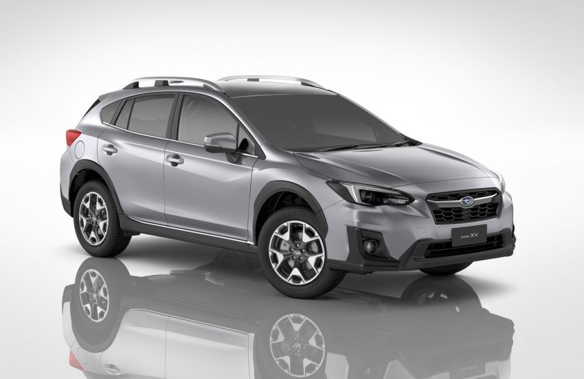 2021 Subaru XV 2.0i-P updated – leather seats, Apple CarPlay and Android Auto connectivity; RM131,788 Image #1290514