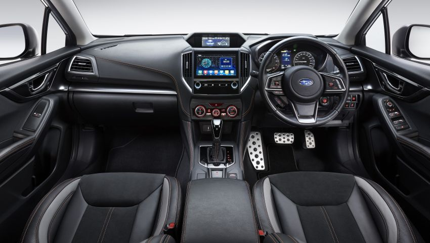 2021 Subaru XV 2.0i-P updated – leather seats, Apple CarPlay and Android Auto connectivity; RM131,788 Image #1290515