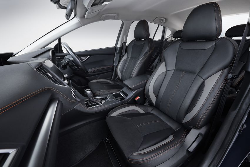 2021 Subaru XV 2.0i-P updated – leather seats, Apple CarPlay and Android Auto connectivity; RM131,788 Image #1290516
