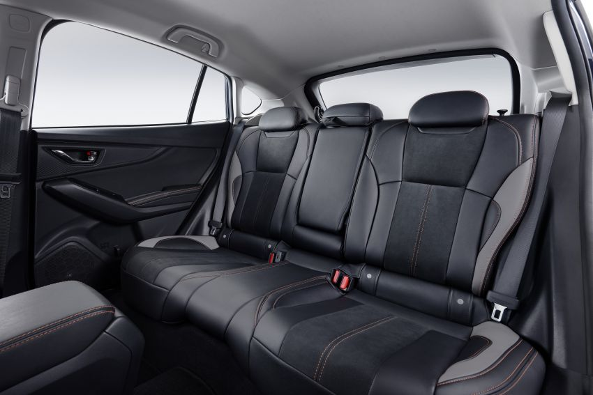 2021 Subaru XV 2.0i-P updated – leather seats, Apple CarPlay and Android Auto connectivity; RM131,788 Image #1290517