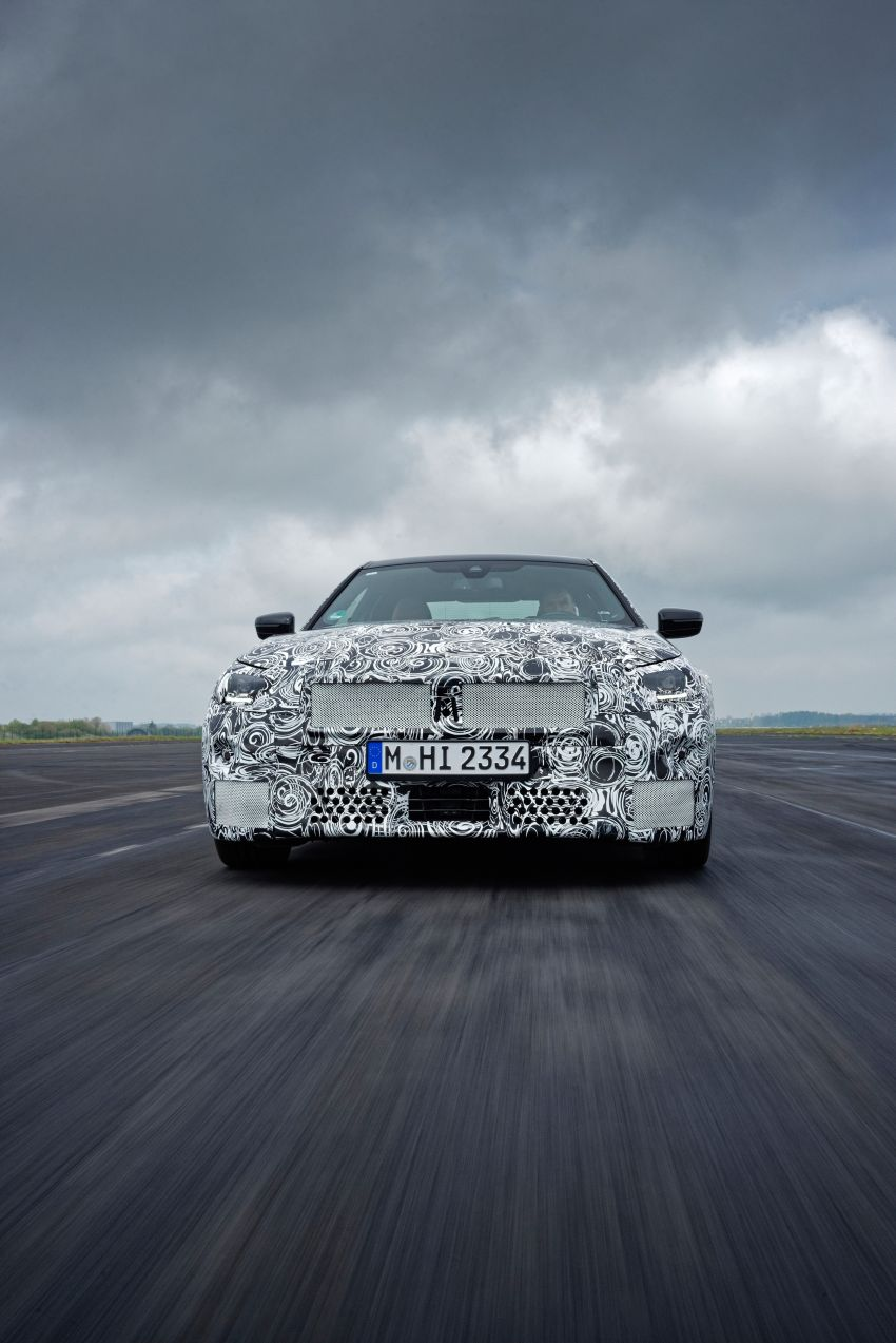 2022 BMW 2 Series Coupe officially teased before debut – M240i xDrive to lead variant range with 374 PS Image #1294194