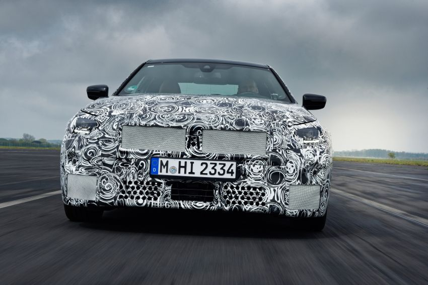 2022 BMW 2 Series Coupe officially teased before debut – M240i xDrive to lead variant range with 374 PS Image #1294204