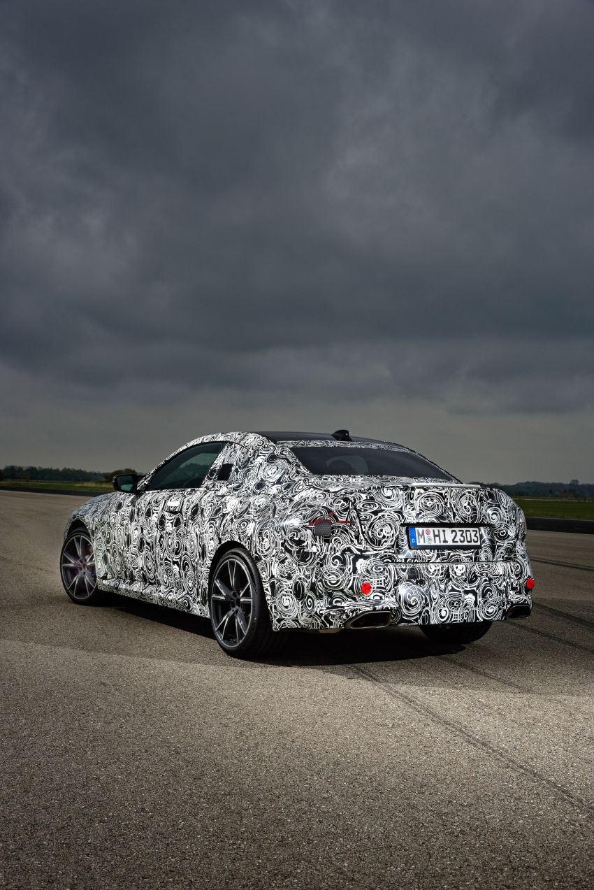2022 BMW 2 Series Coupe officially teased before debut – M240i xDrive to lead variant range with 374 PS Image #1294301