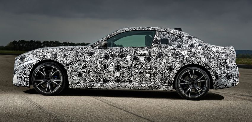 2022 BMW 2 Series Coupe officially teased before debut – M240i xDrive to lead variant range with 374 PS Image #1294303