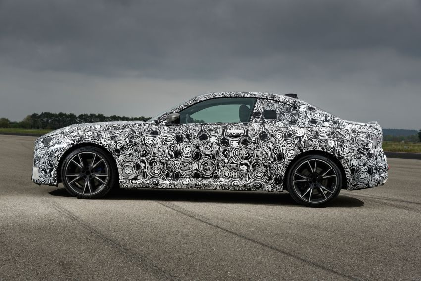 2022 BMW 2 Series Coupe officially teased before debut – M240i xDrive to lead variant range with 374 PS Image #1294304