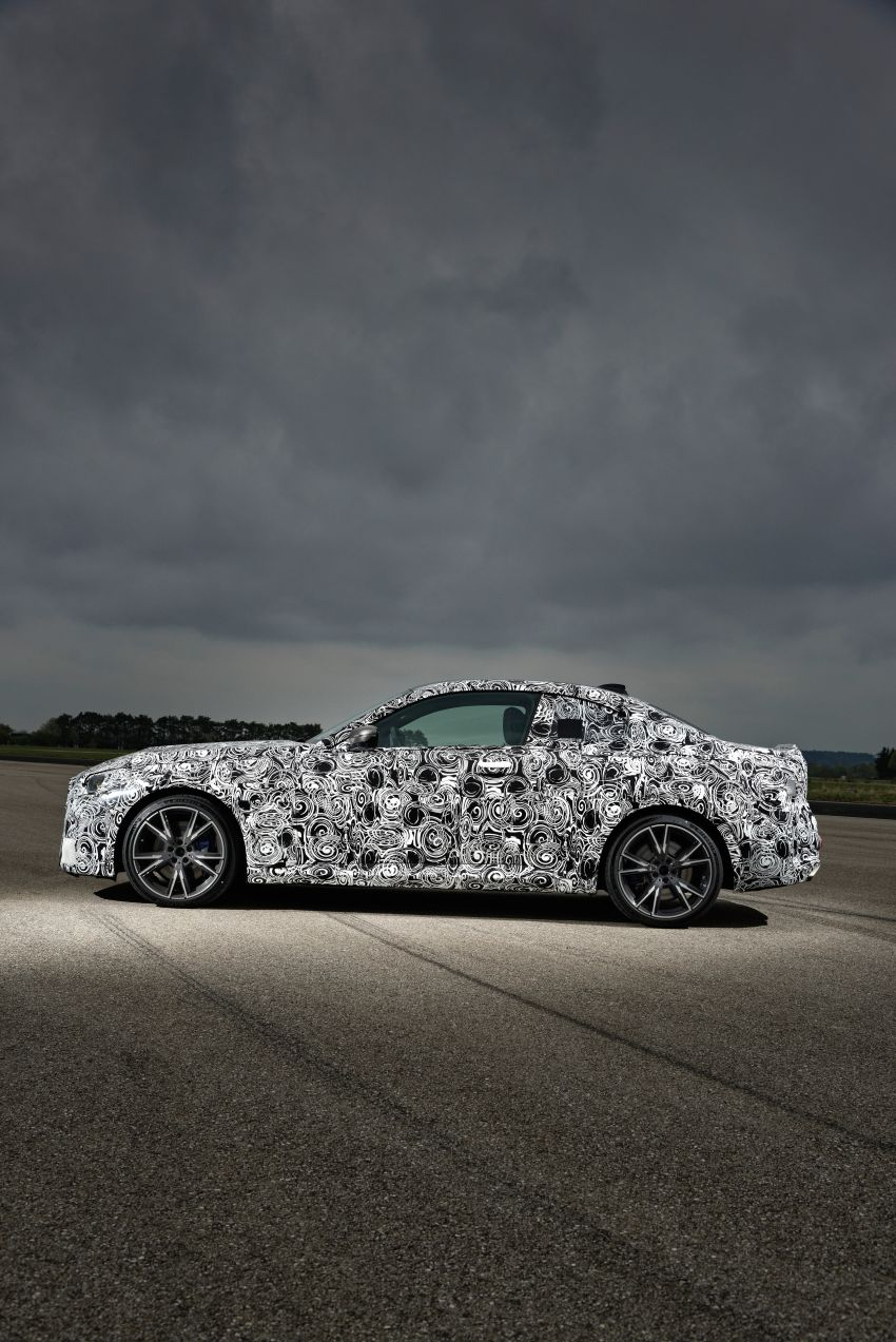 2022 BMW 2 Series Coupe officially teased before debut – M240i xDrive to lead variant range with 374 PS Image #1294305