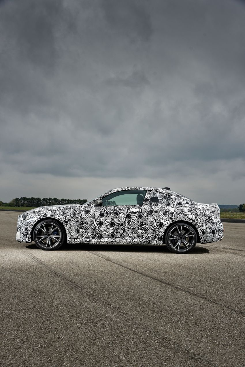 2022 BMW 2 Series Coupe officially teased before debut – M240i xDrive to lead variant range with 374 PS Image #1294306