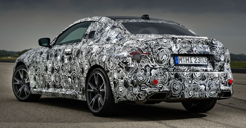 2022 BMW 2 Series Coupe officially teased before debut – M240i xDrive to lead variant range with 374 PS Image #1294307