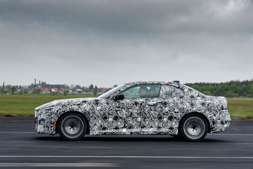 2022 BMW 2 Series Coupe officially teased before debut – M240i xDrive to lead variant range with 374 PS Image #1294205