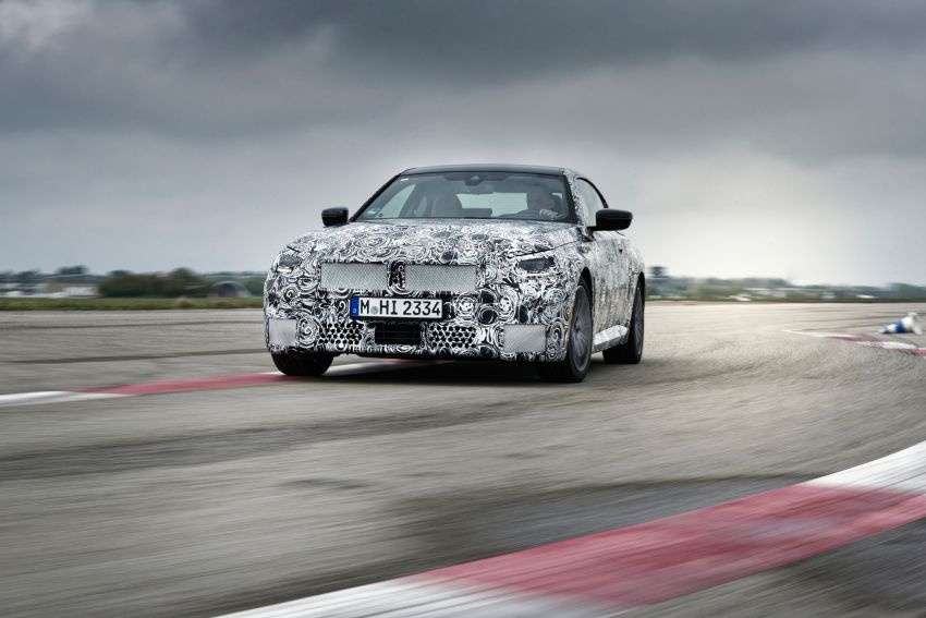 2022 BMW 2 Series Coupe officially teased before debut – M240i xDrive to lead variant range with 374 PS Image #1294209
