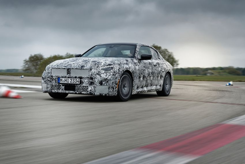 2022 BMW 2 Series Coupe officially teased before debut – M240i xDrive to lead variant range with 374 PS Image #1294211